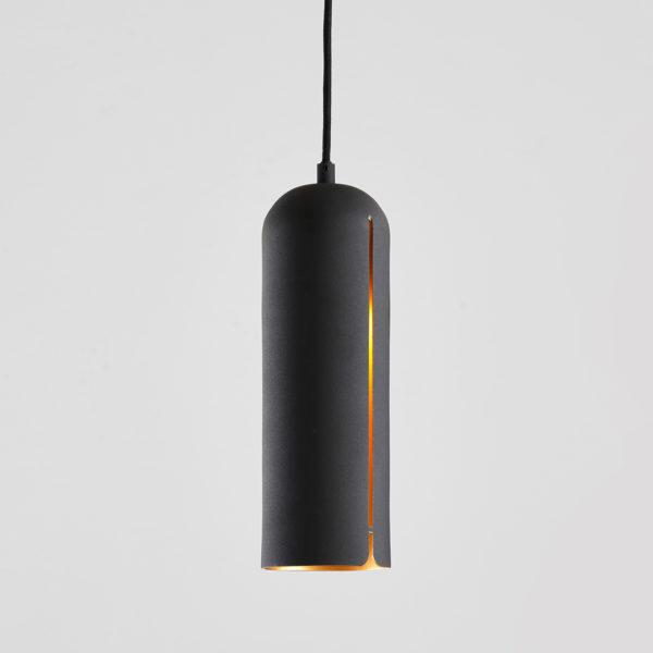petite suspension noir et doré GAP tall woud design mat