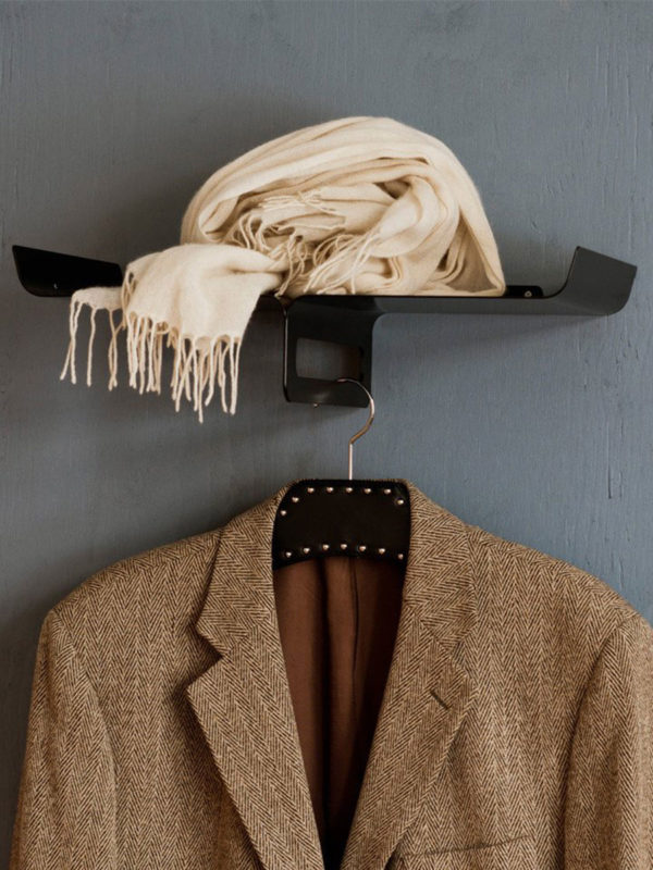 Porte manteau Kite noir éco responsable