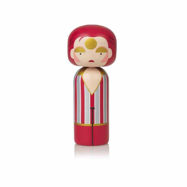 Figurine bois Ziggy Stardust, Lucie Kaas
