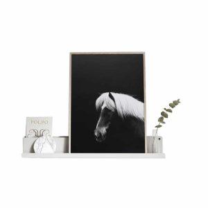 Affiche poster cheval, Hestur