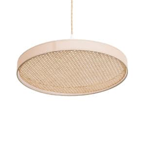 suspension en cannage naturel eclipse anso design