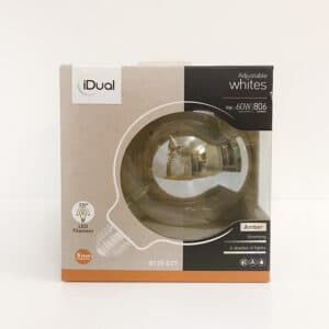 Ampoule G125 IDUAL WHITES LED filament