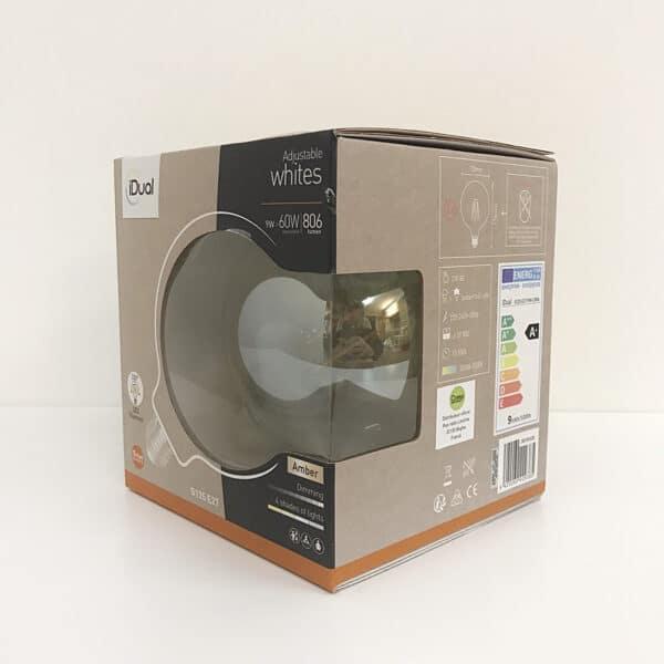 Ampoule G125 IDUAL WHITES LED filament