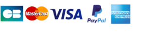 logo paiement visa paypal mastercard amex cb