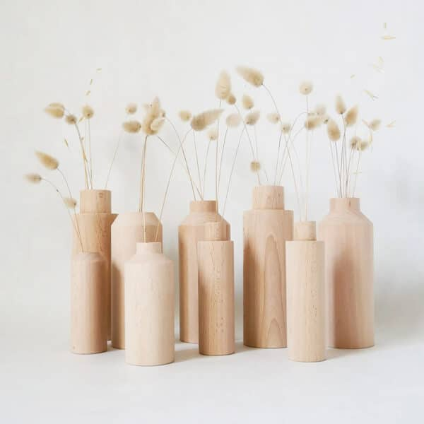 Soliflore en bois made in France Anso design