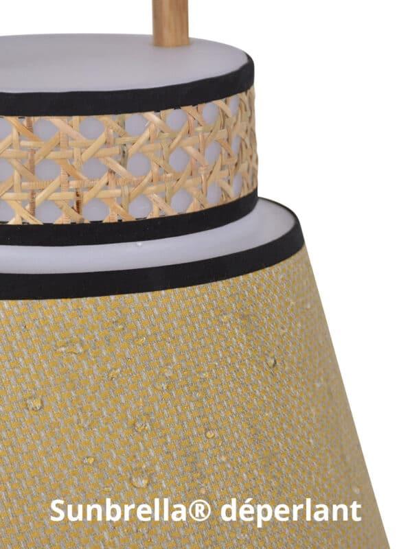 Baladeuse exterieure couleur Honey